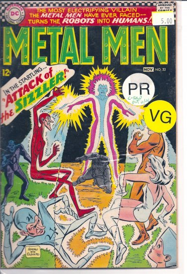 Metal Men # 22, 0.5 PR