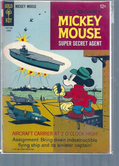MICKEY MOUSE # 108, 4.5 VG +