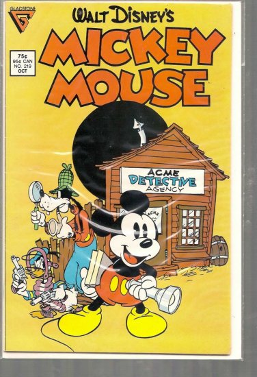 MICKEY MOUSE # 219, 6.5 FN +