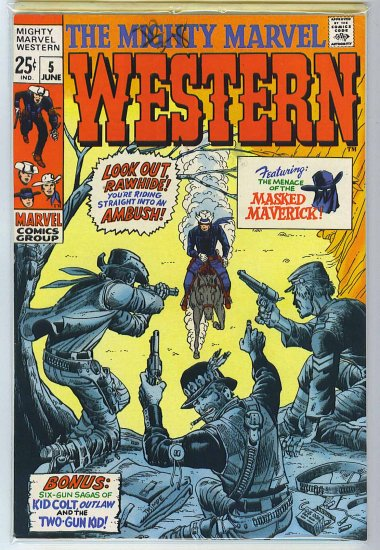 Mighty Marvel Western # 5, 7.0 FN/VF