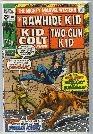 Mighty Marvel Western # 10, 8.0 VF