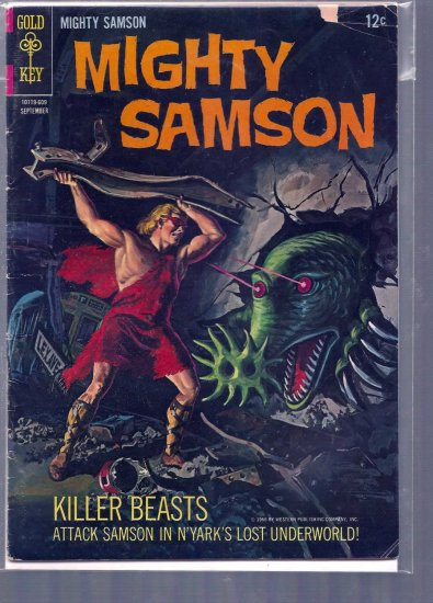 MIGHTY SAMSON # 7, 4.0 VG