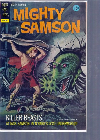 MIGHTY SAMSON # 21, 5.0 VG/FN