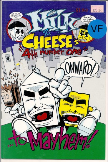 Milk And Cheese # 4, 8.0 VF