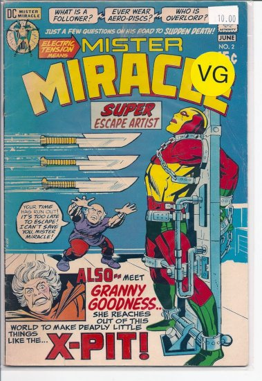 Mister Miracle # 2, 4.0 VG