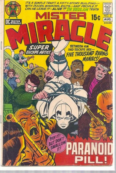 MISTER MIRACLE # 3, 3.5 VG -