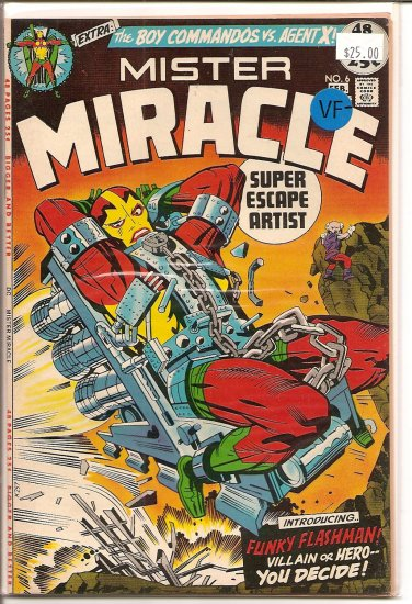 Mister Miracle # 6, 7.5 VF -