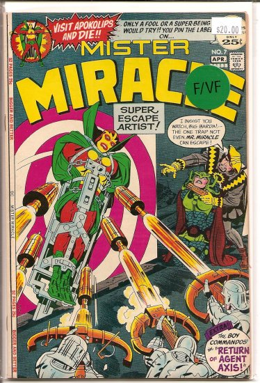 Mister Miracle # 7, 7.0 FN/VF