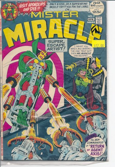 Mister Miracle # 7, 6.0 FN