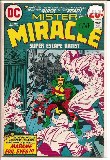 Mister Miracle # 14, 7.0 FN/VF