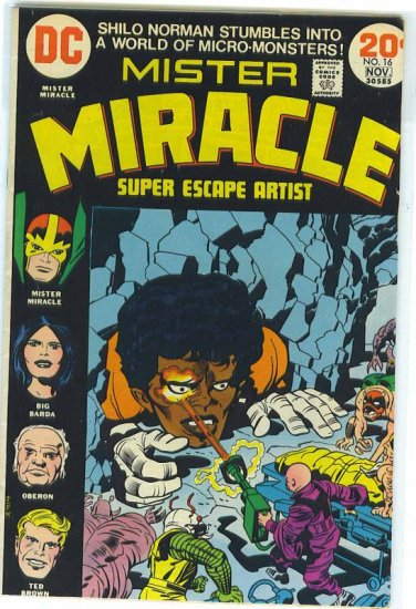 Mister Miracle # 16, 4.5 VG +