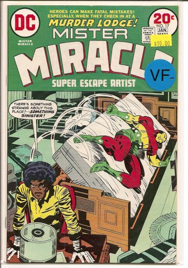 Mister Miracle # 17, 7.5 VF -