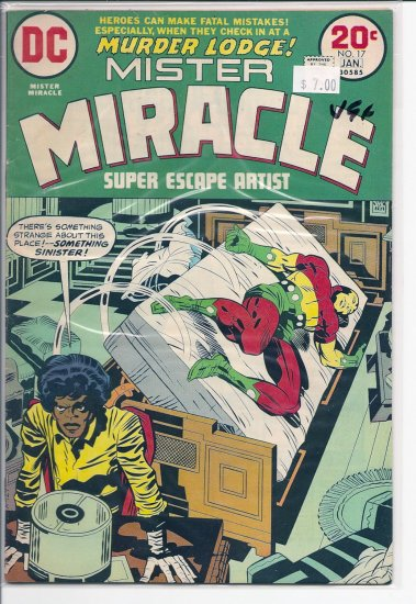 Mister Miracle # 17, 4.5 VG +