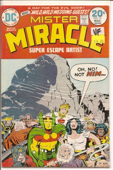 Mister Miracle # 18, 8.0 VF