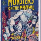 MONSTERS ON THE PROWL # 14, 3.5 VG -
