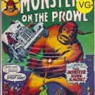 Monsters on the Prowl # 22, 4.5 VG +