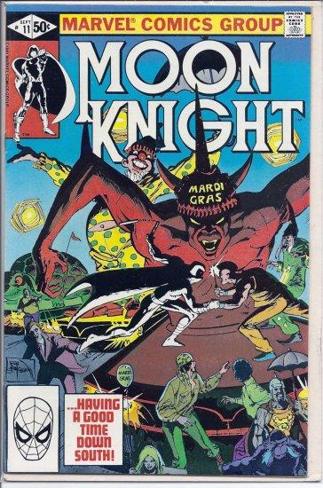 MOON KNIGHT # 11, 7.0 FN/VF