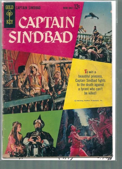 MOVIE COMICS CAPTAIN SINBAD # 1, 4.0 VG