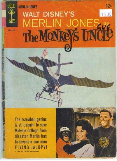Movie Comics Merlin Jones Monkey's Uncle # 1, 4.5 VG +