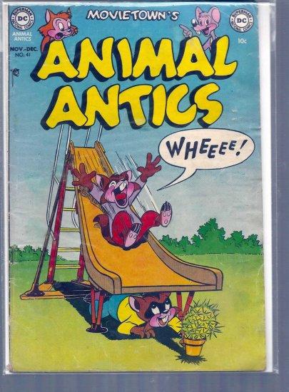 MOVIE TOONS ANIMAL ANTICS # 41, 2.5 GD +