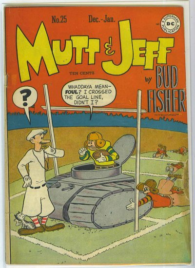 Mutt And Jeff # 25, 4.0 VG