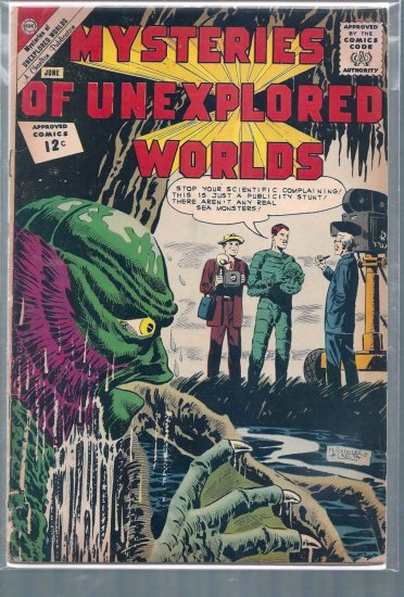 MYSTERIES OF UNEXPLORED WORLDS # 30, 1.5 FR/GD
