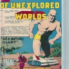 MYSTERIES OF UNEXPLORED WORLDS # 40, 4.5 VG +
