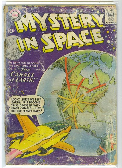 Mystery In Space # 38, 1.0 FR