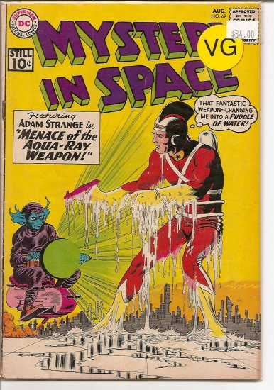 Mystery in Space # 69, 4.0 VG