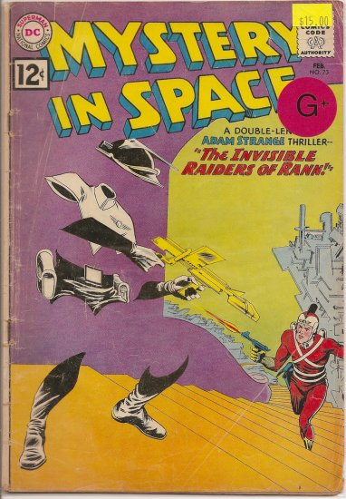 Mystery in Space # 73, 2.5 GD +