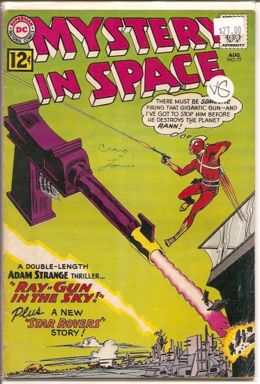 Mystery in Space # 77, 4.0 VG