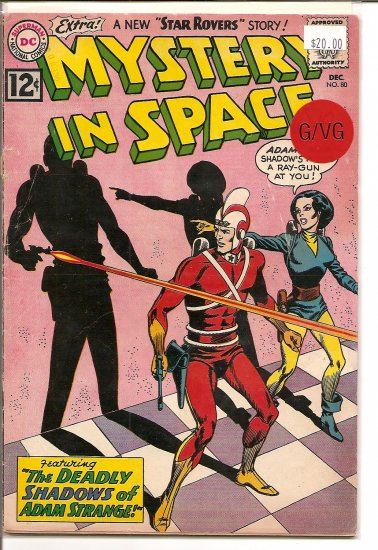 Mystery in Space # 80, 3.0 GD/VG