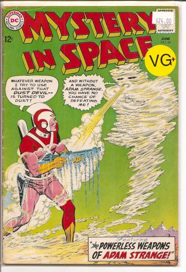 Mystery in Space # 84, 4.5 VG +