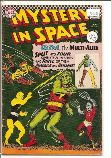 Mystery in Space # 107, 4.0 VG