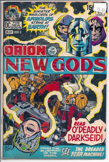 New Gods # 2, 3.0 GD/VG