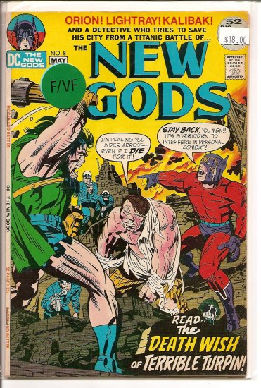 New Gods # 8, 7.0 FN/VF