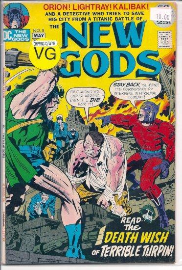 New Gods # 8, 4.0 VG