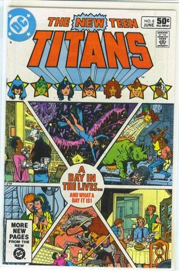 New Teen Titans # 8, 9.2 NM -