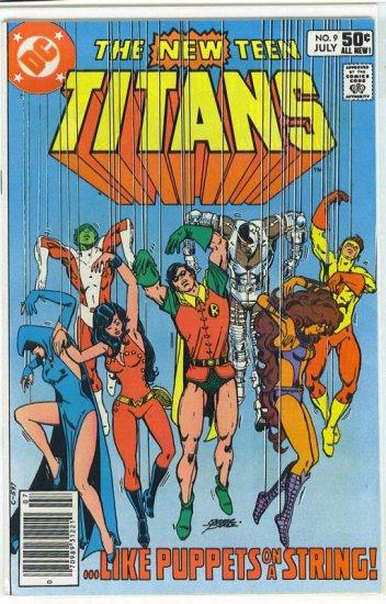 New Teen Titans # 9, 9.0 VF/NM