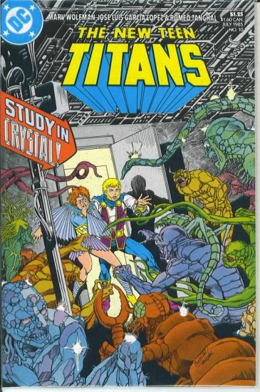 New Teen Titans # 10, 8.5 VF +