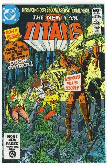 New Teen Titans # 13, 9.4 NM