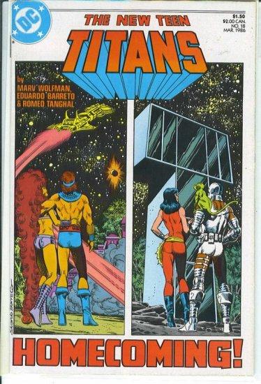 New Teen Titans # 18, 9.2 NM -