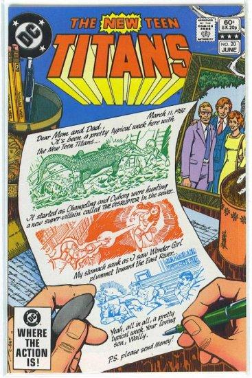 New Teen Titans # 20, 9.4 NM