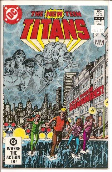 New Teen Titans # 26, 9.4 NM