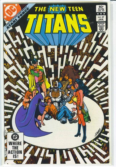 New Teen Titans # 27, 9.2 NM -