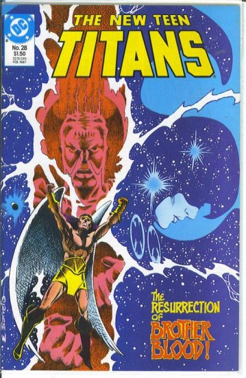 New Teen Titans # 28, 9.4 NM