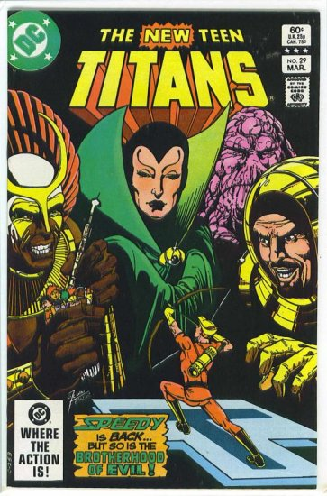 New Teen Titans # 29, 9.4 NM