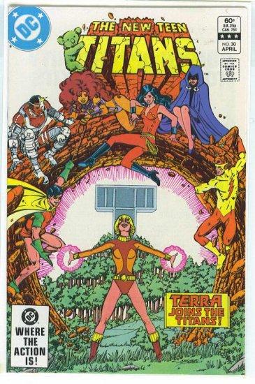 New Teen Titans # 30, 9.2 NM -