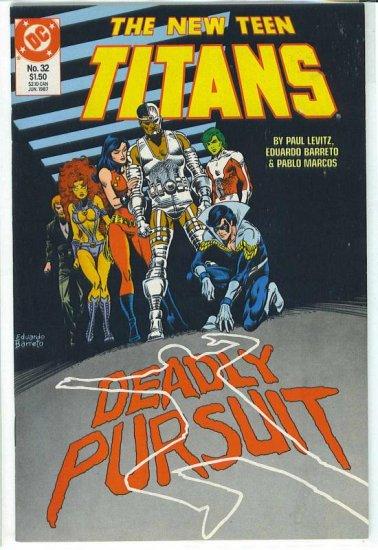 New Teen Titans # 32, 9.2 NM -