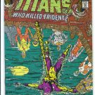 New Teen Titans # 33, 9.2 NM -